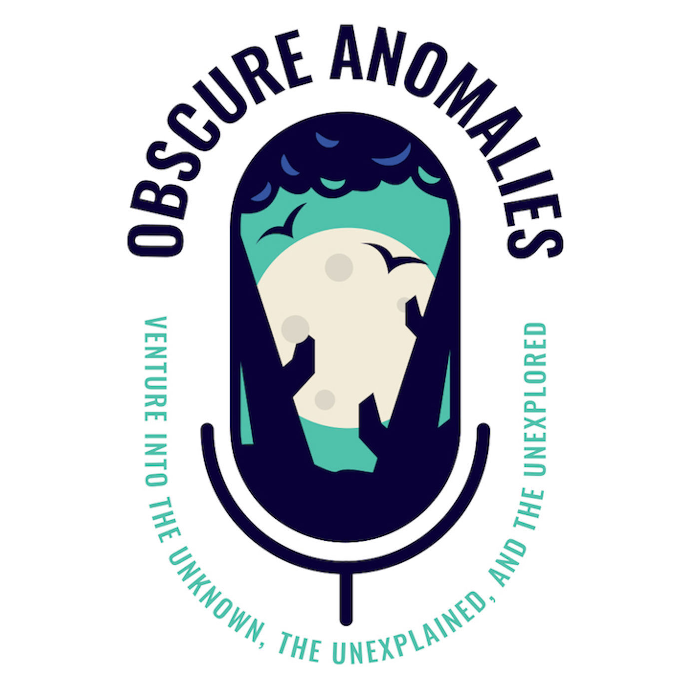 Obscure Anomalies Mic Logo